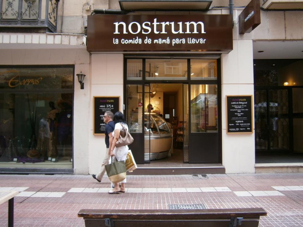 Establecimiento de Nostrum en Zaragoza