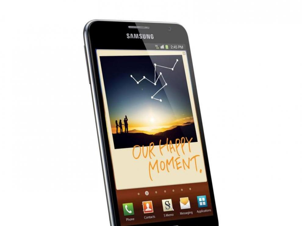 Imagen de un teléfono móvil Samsung