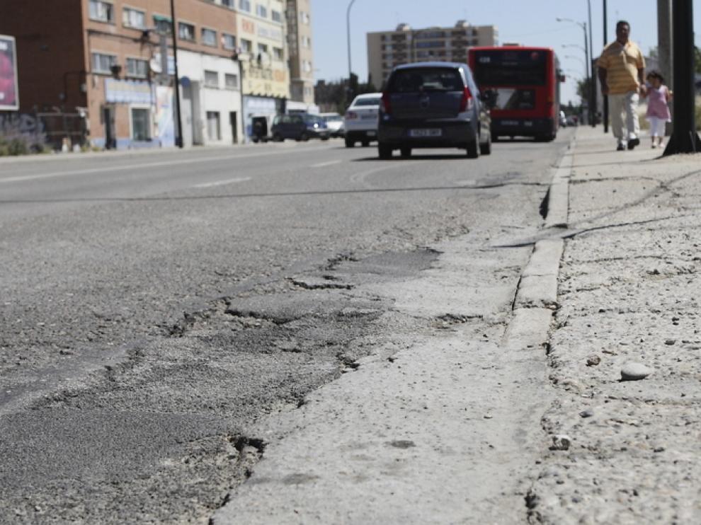 Imagen de archivo de un tramo de la avenida de Cataluña