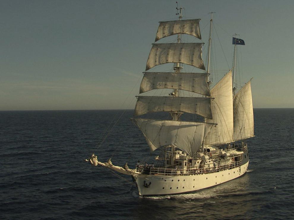 El Estrella Polar, el barco de la serie