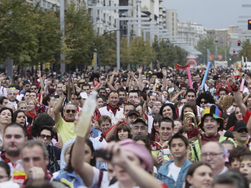 Desfile del pregón de 2010 en Independencia
