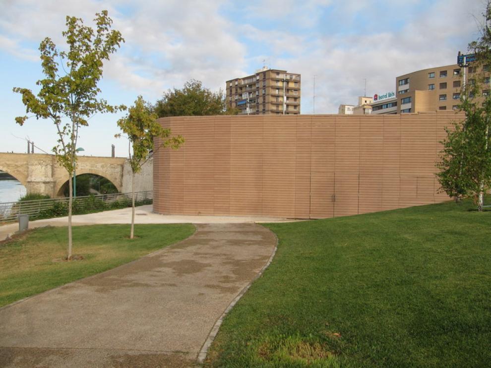 Centro de intepretación del Balcón de San Lázaro, cerrado y sin información