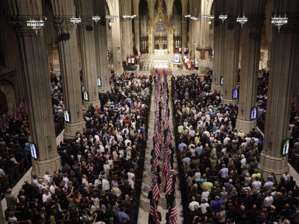 Ceremonia en la catedral de San Patricio de Nueva York