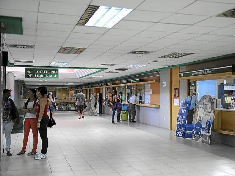 La estación de autobuses de Teruel