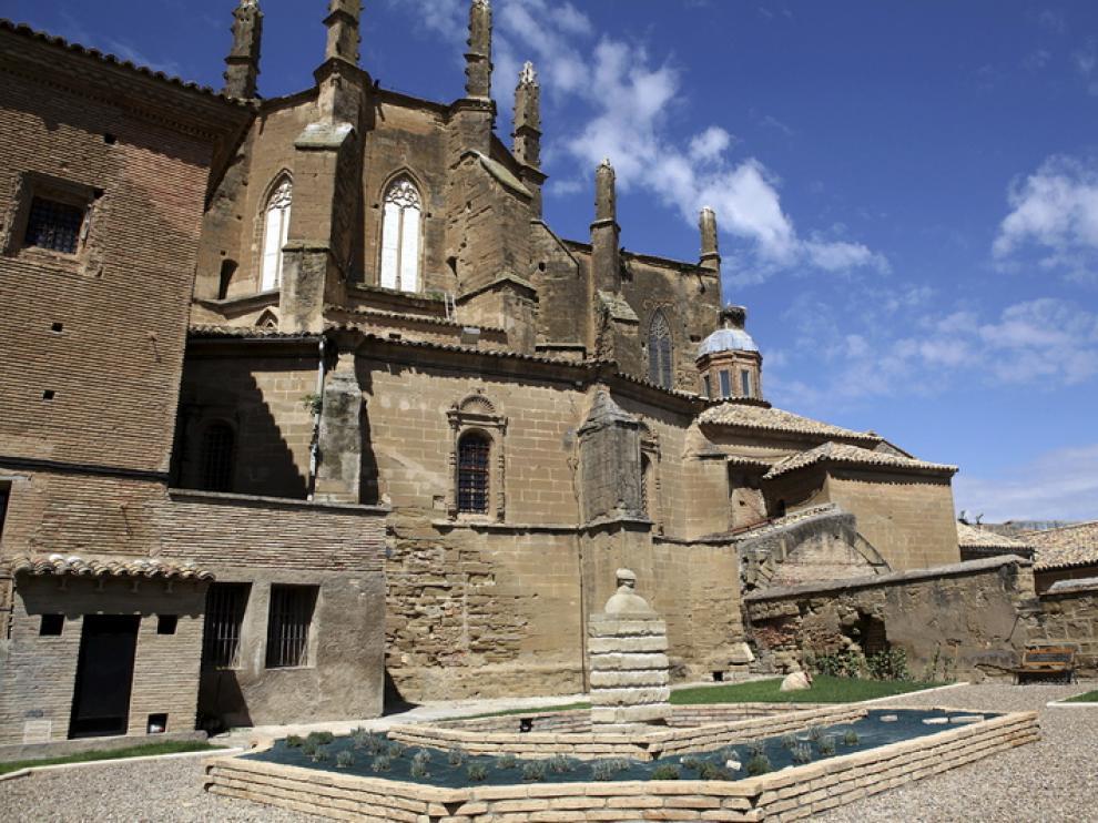 Imagen de la catedral de Huesca