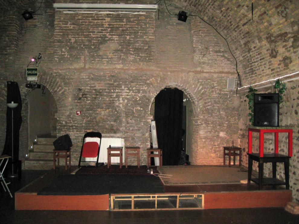 Bodega del Albergue, donde se realizan actuaciones