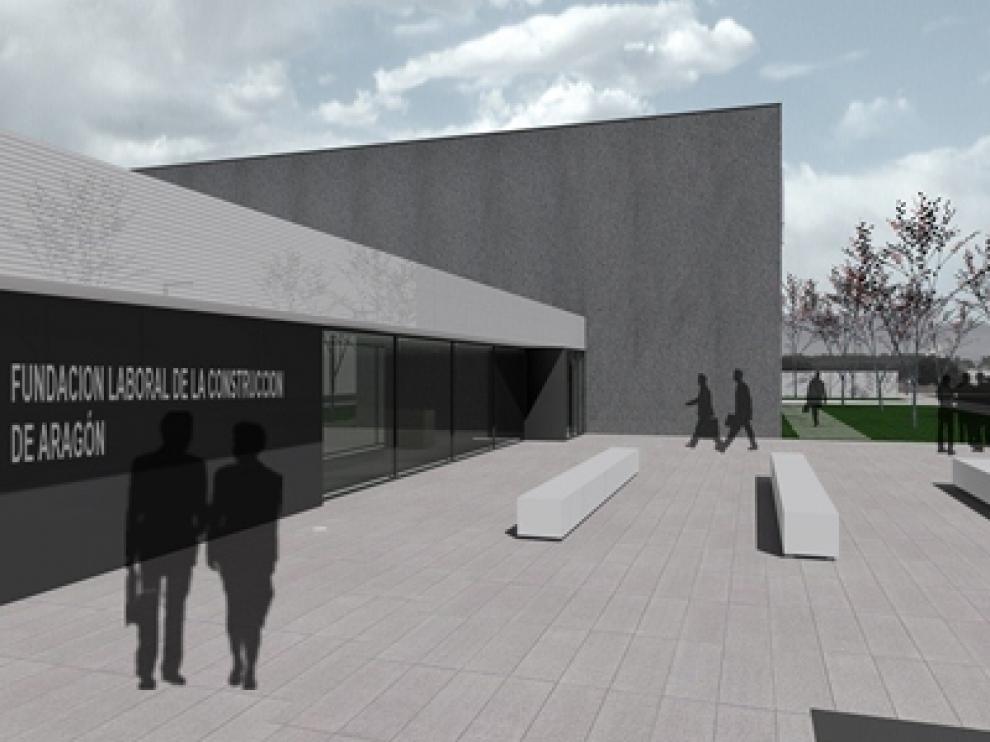 Imagen virtual del edificio