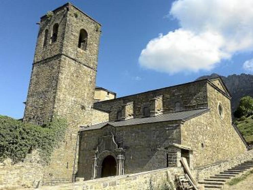 Imagen del Monasterio de San Victorián