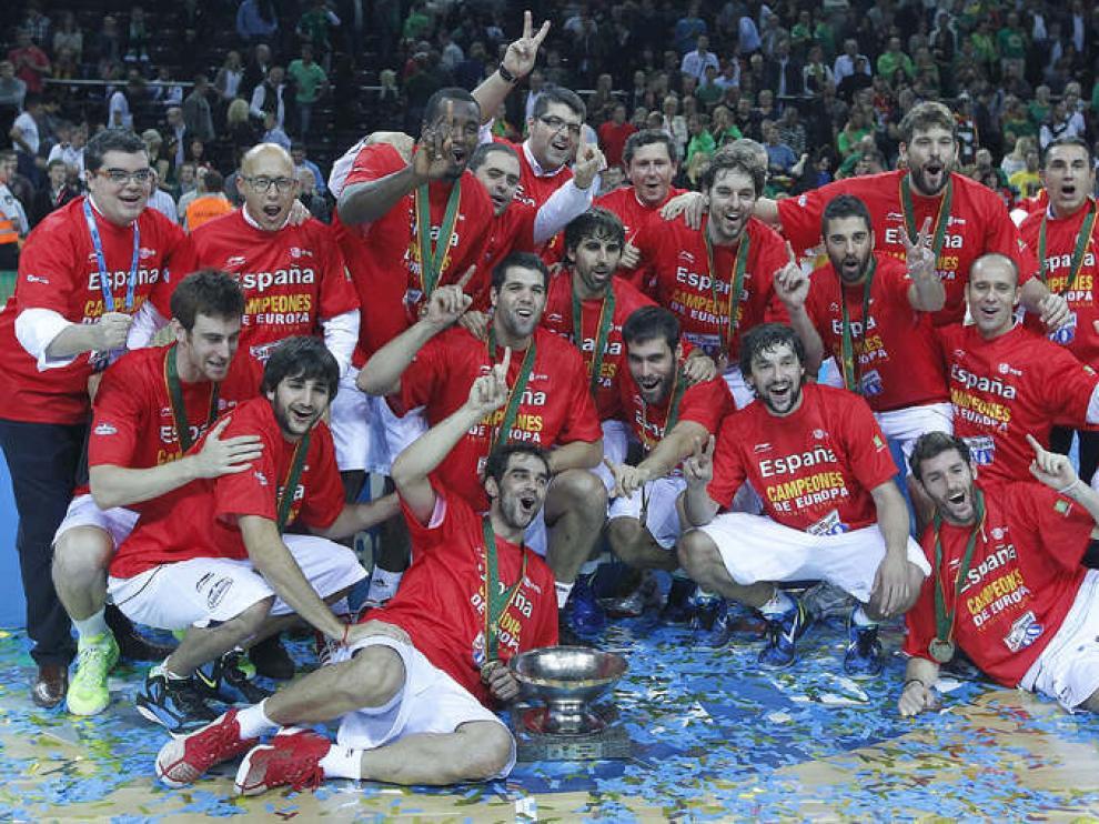 La selección española, campeona de Europa de nuevo