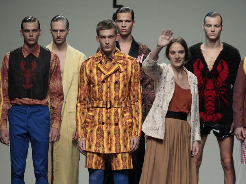 Ixone Elzo y sus modelos