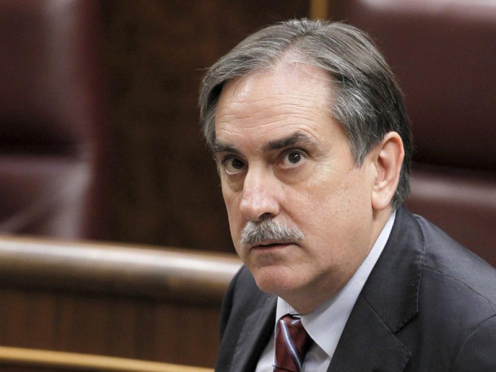 El portavoz de Economía del PSOE, Valeriano Gómez