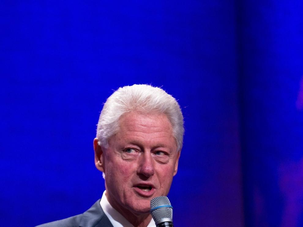 El ex Presidente de EE. UU., Bill Clinton