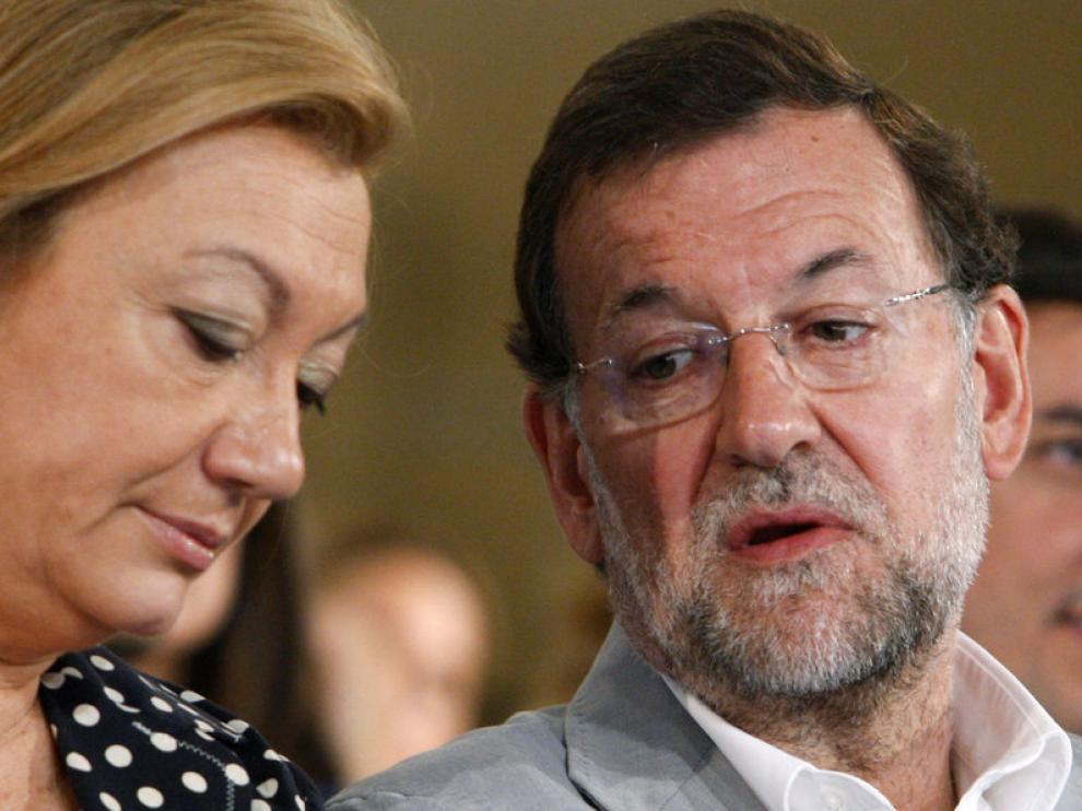Rudi y Rajoy en una imagen de archivo