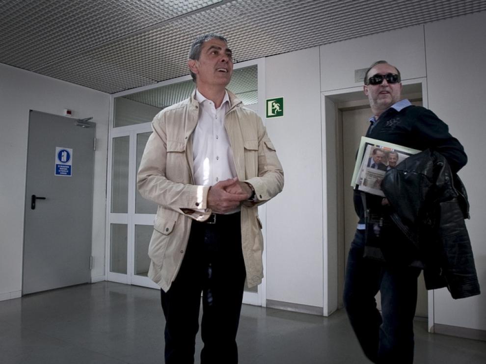 El alcalde de Mallén, Antonio Asín (Archivo)