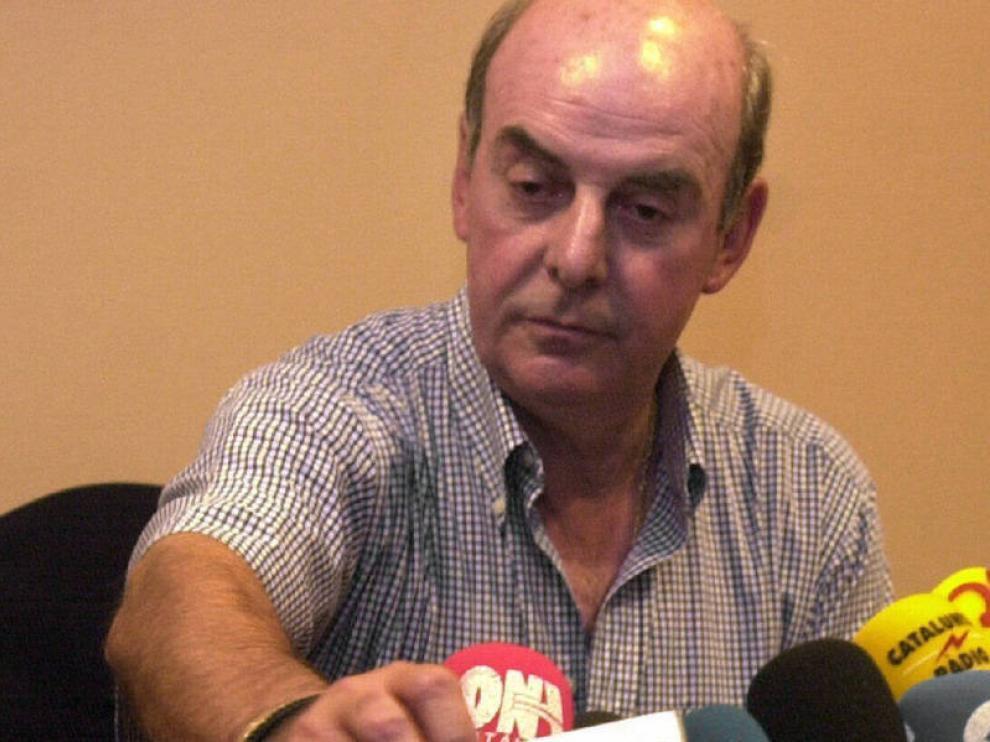 Chus Pereda, en una imagen de archivo