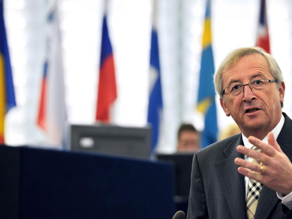 El presidente del Eurogrupo, Jean-Claude Juncker