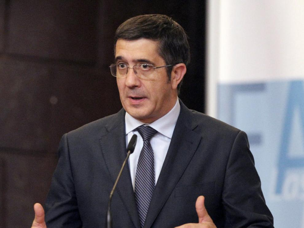 El lendakari Patxi López