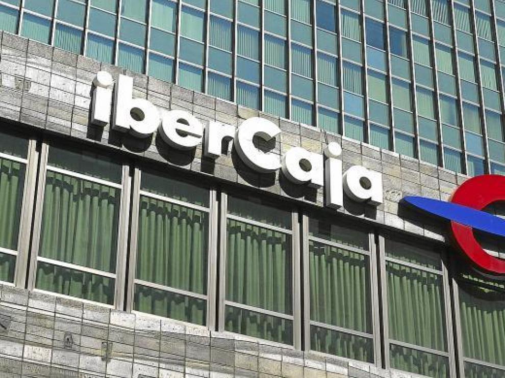 Oficina central de Ibercaja en Zaragoza.
