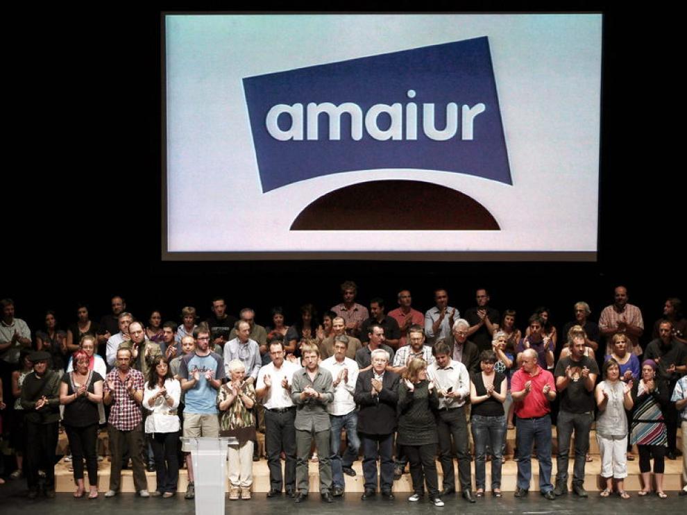 Presentación de Amaiur en Pamplona