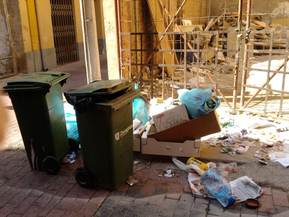 Imagen de la calle de Agustina de Aragón