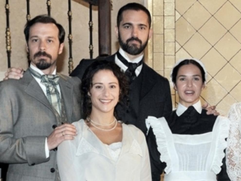 Los actores de 'Gran Hotel'