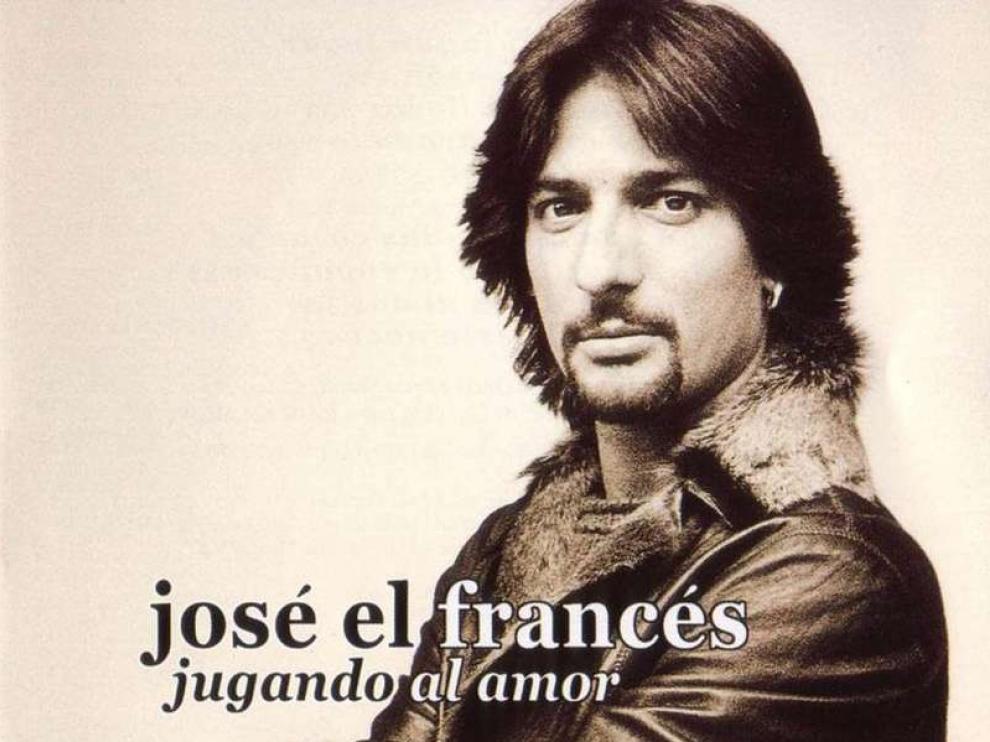 José 'el Francés' en la carátula de uno de sus discos