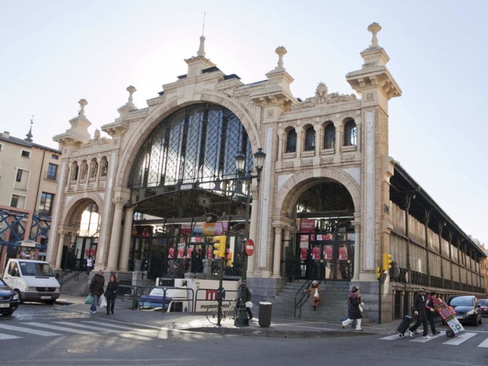 Exterior del Mercado Central