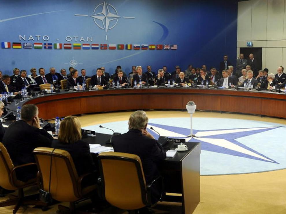 Vista general de los titulares de defensa de la OTAN