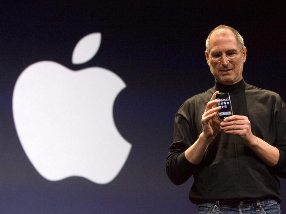 Steve Jobs durante una presentación