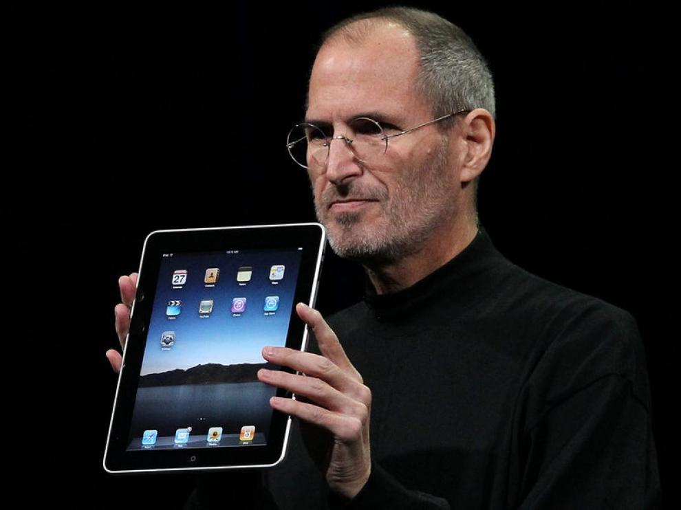 El iPad, presentado en 2010, fue la última genial aportación de Steve al mundo de la tecnología