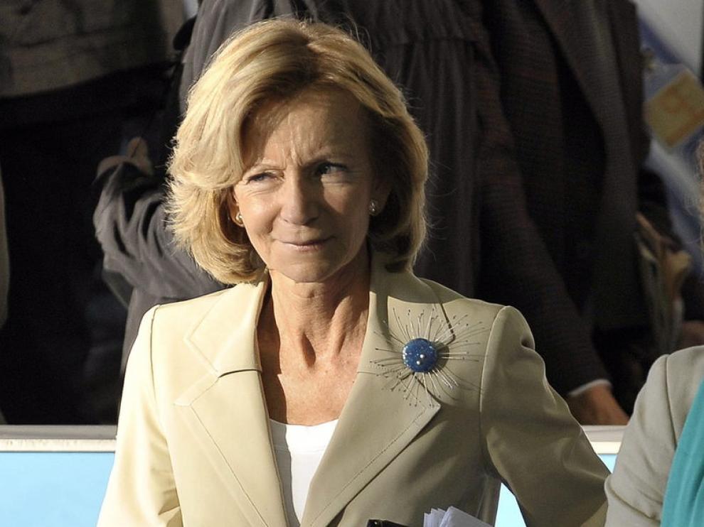 La vicepresidenta económica española, Elena Salgado, en una imagen de archivo.
