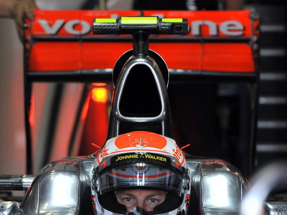 Button en el Gran Premio de Japón