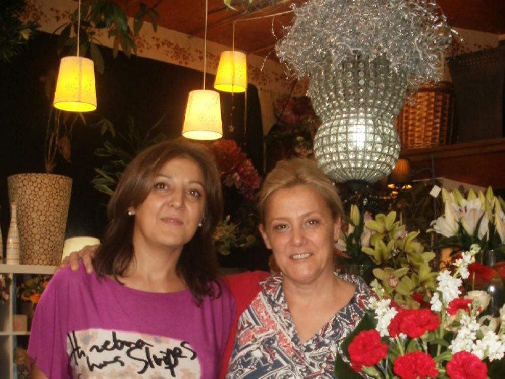 Pilar y Victoria en 'El Jardín de Paula'