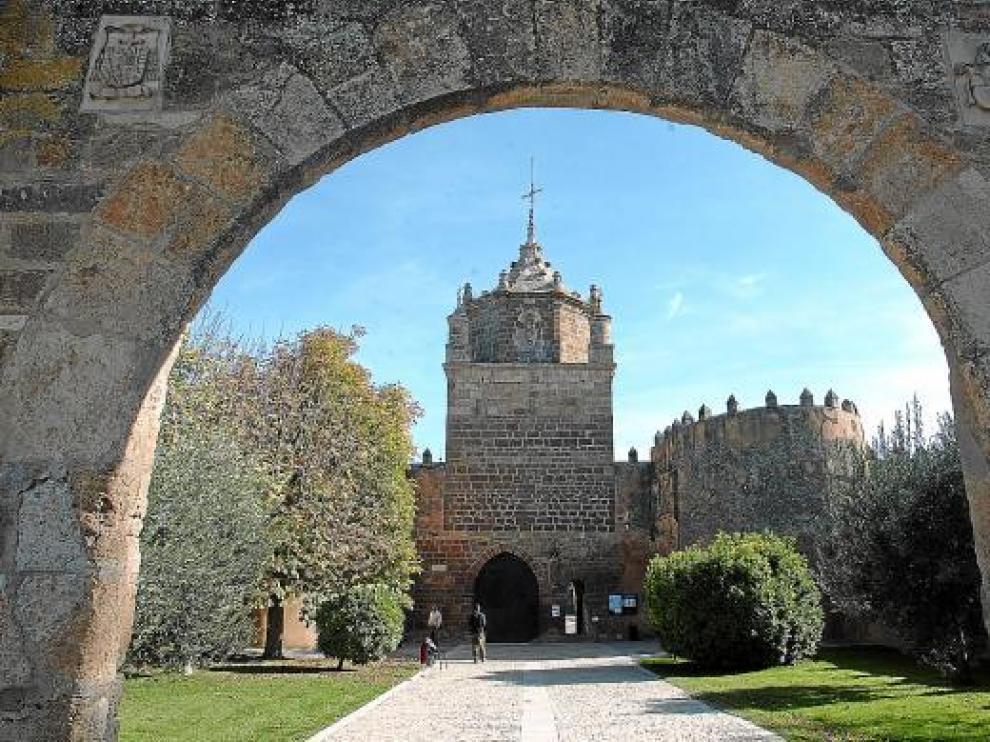 Entrada principal al complejo del monasterio de Veruela.