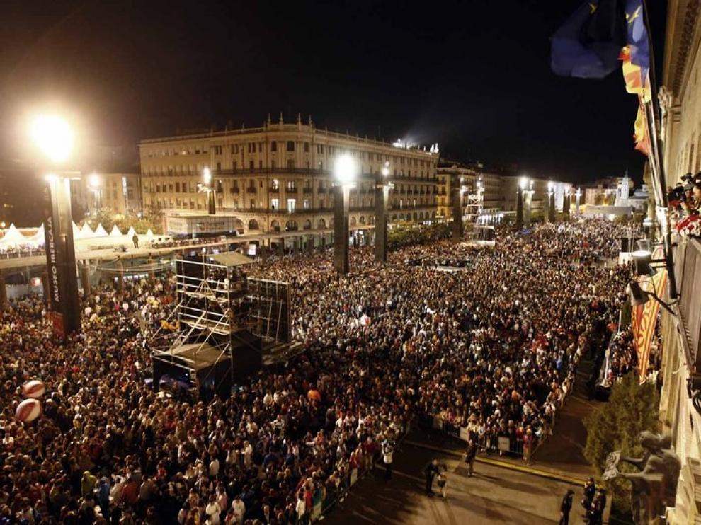 Pregón de las Fiestas del Pilar en el Ayuntamiento