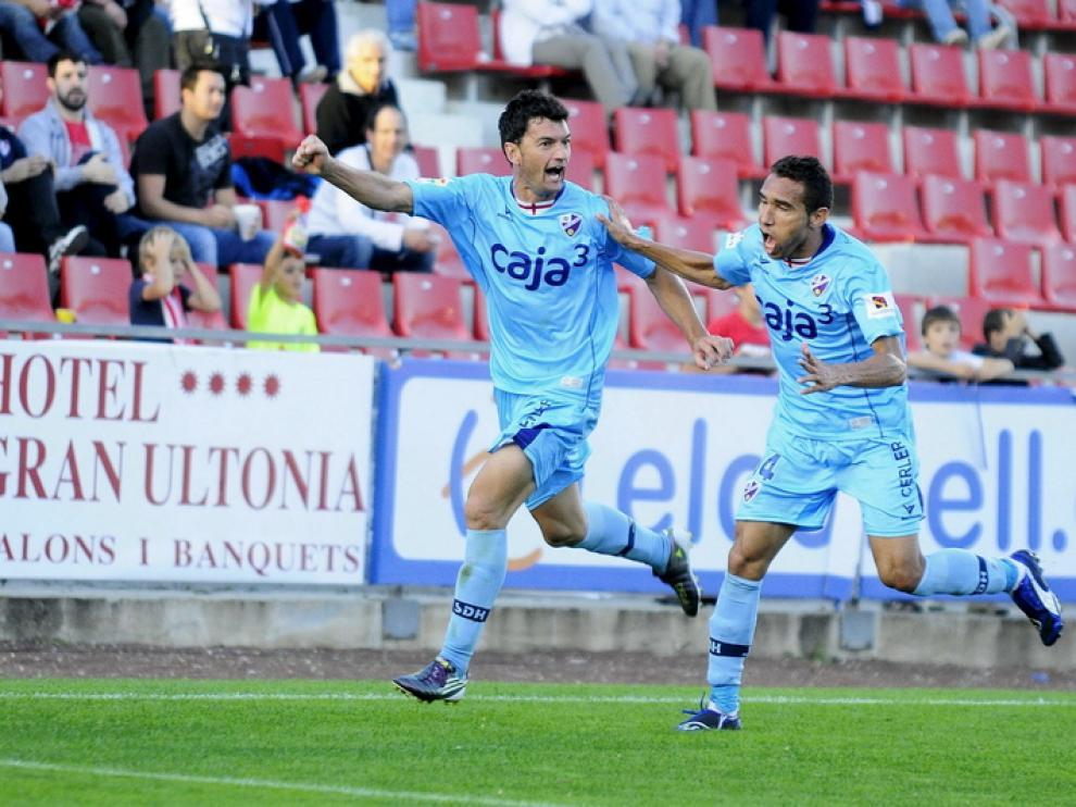 El Huesca rascó un empate