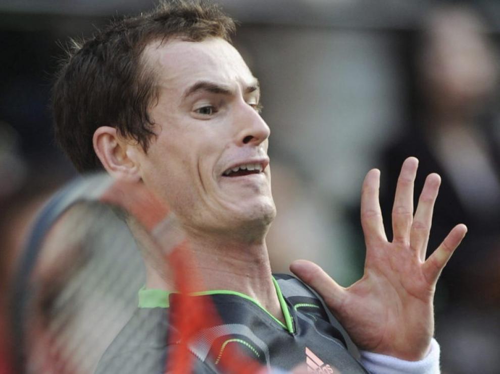 Andy Murray, durante el partido