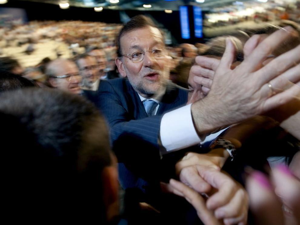 El presidente del PP, en la clausura de la Convención Nacional