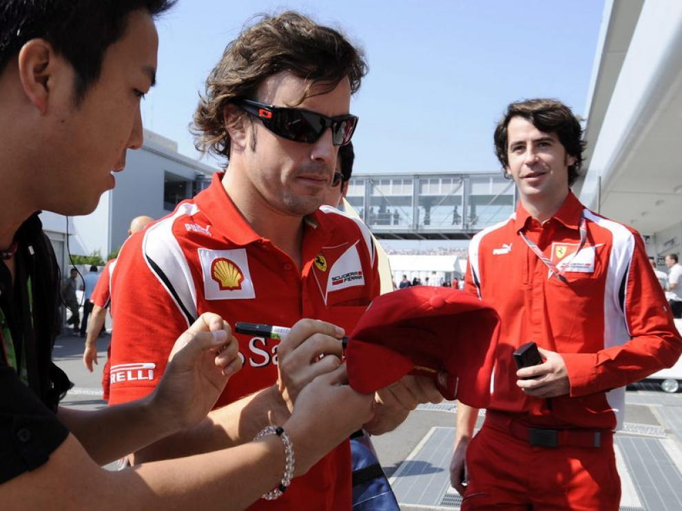 Fernando Alonso, este domingo en Suzuka