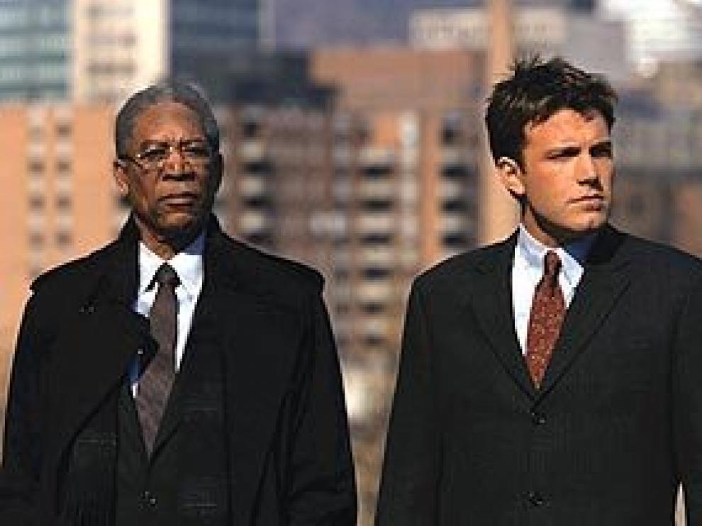 Un fotograma de la película coprotagonizada por Morgan Freeman.