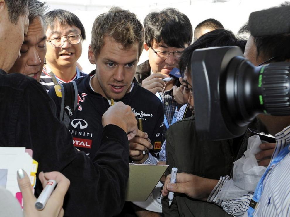 Sebastian Vettel, nuevo campeón del mundo de Fórmula 1