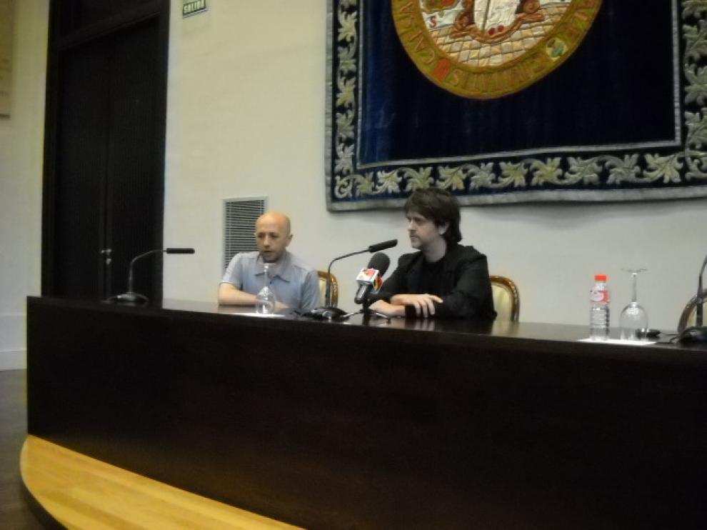 Juan Carlos Fresnadillo y Luis Alegre.