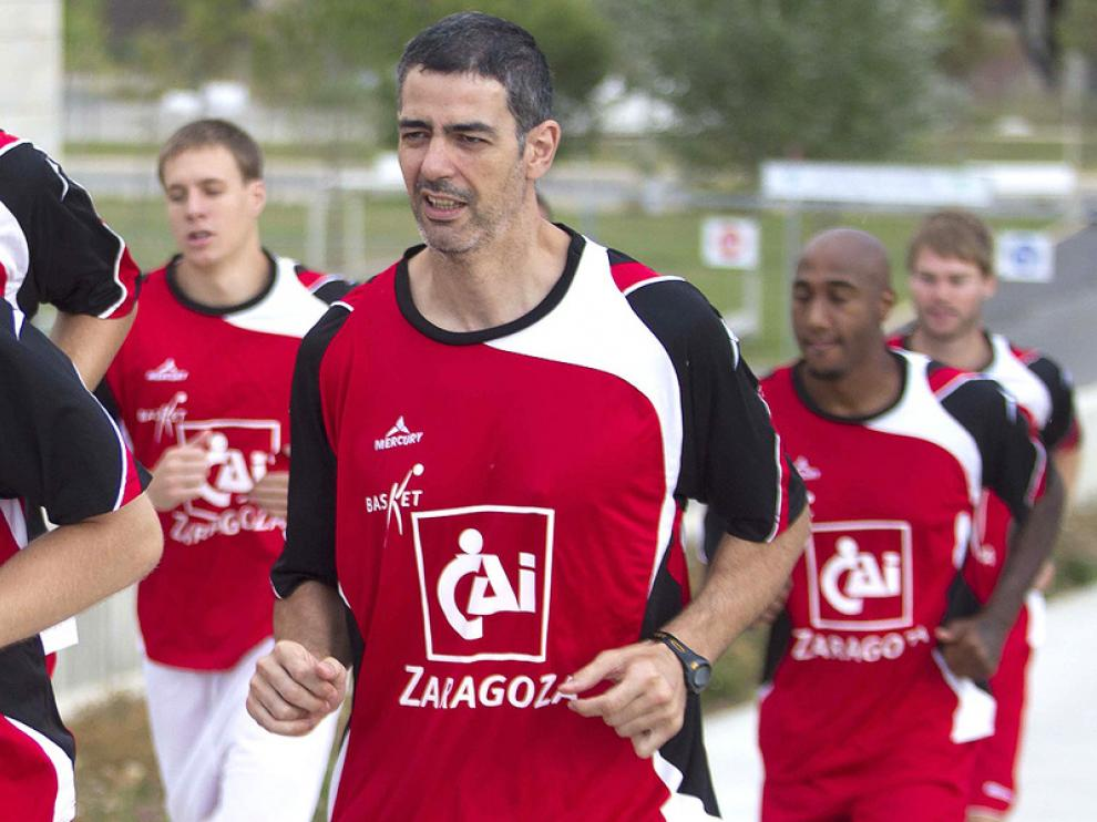 Rodrigo Legasa, jugador del CAI