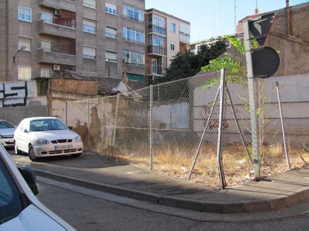 Aspecto de la calle San Luis de Francia en el barrio de San José