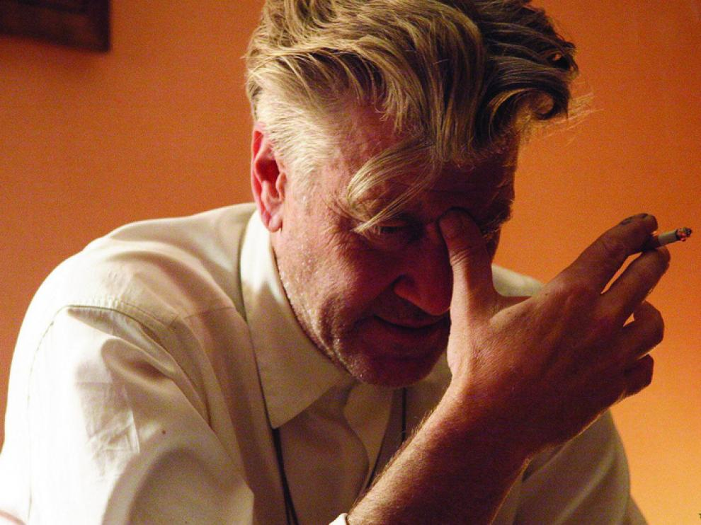 El director David Lynch