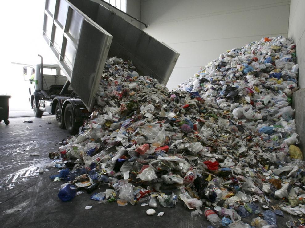 Centro de clasificación de residuos