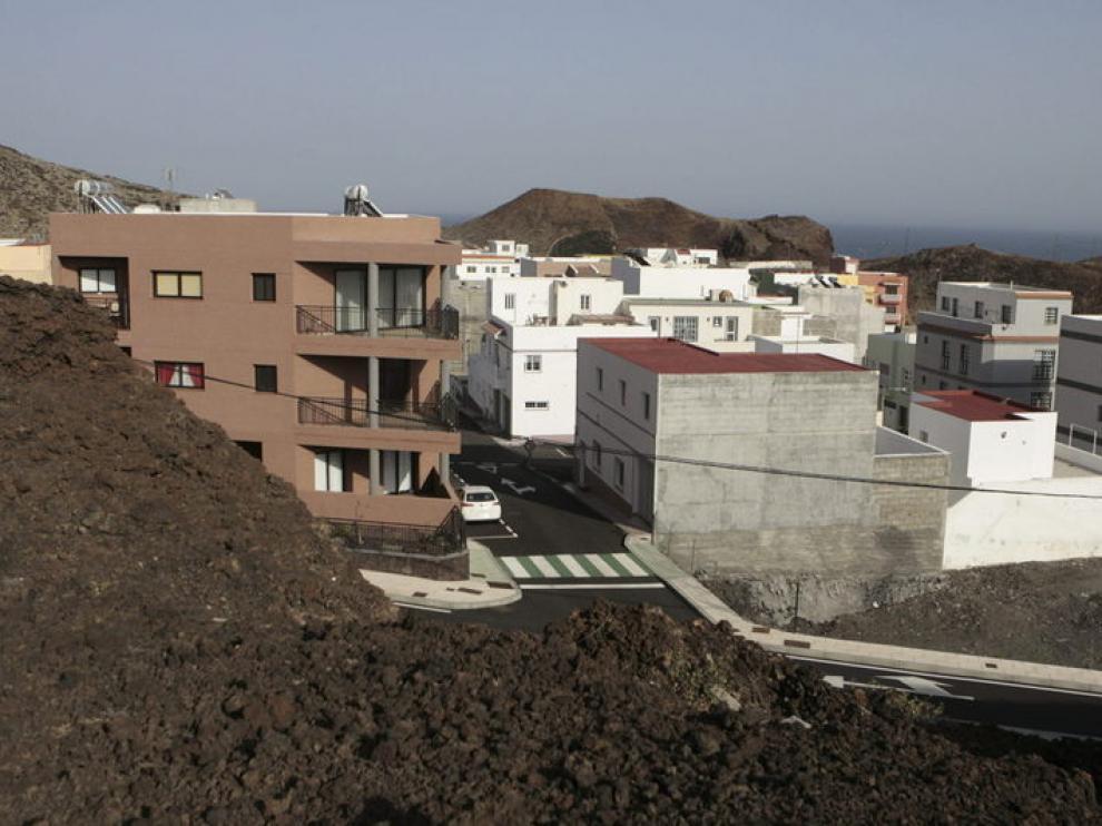 La localidad de La Restinga ha quedado totalmente desalojada ante la alerta de seísmo.