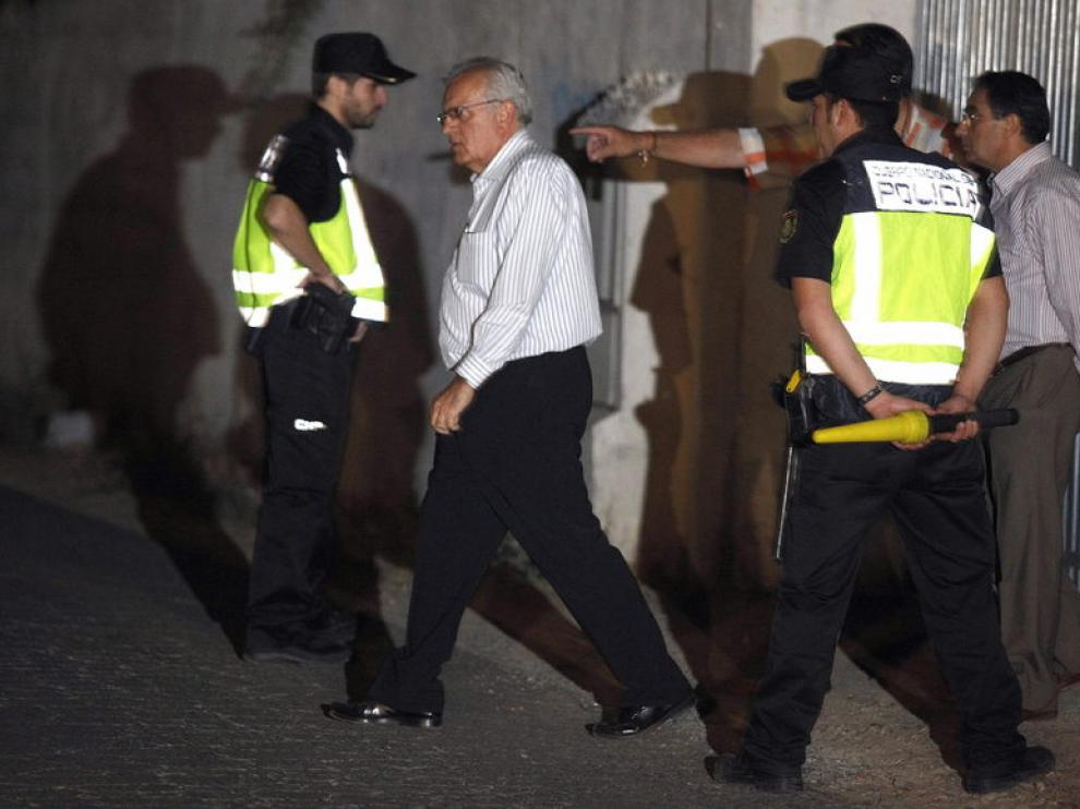El comisario de la Policía Judicial de Sevilla, Manuel Piedrabuena