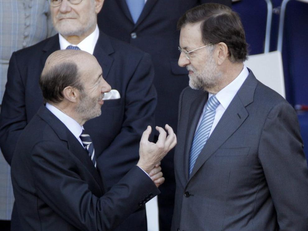 Alfredo Pérez Rubalcaba y Mariano Rajoy principales candidatos a la presidencia del Gobierno