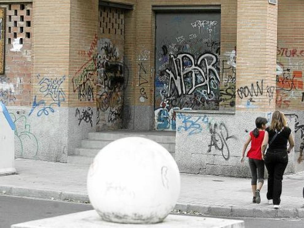 Parón en Santiago a la 'Operación grafiti'